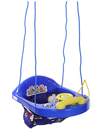 New Natraj Blue Activity Swing Teddy Print