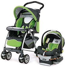 Chicco Cortina Stroller Cum Car Seat Travel System - Midori