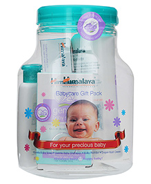 Himalaya Herbal Baby Care Gift Jar - 4 Pieces Pack