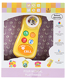 Mee Mee Handy Mobile Phone Playthings Musical toy