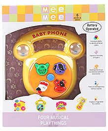 Mee Mee Baby Phone Playthings Musical Toy