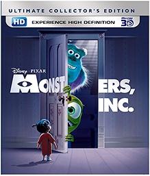 Disney Monster Inc 3D English - Blu Ray Disc