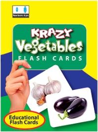Krazy Vegetables Mini Flash Cards
