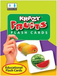 Krazy Fruits Mini Flash Cards