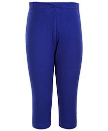 Gini & Jony Plain Cotton Legging - Blue