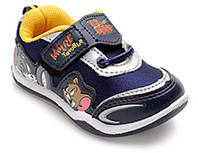 Tom And Jerry Broad Velcro Strap Shoes