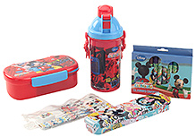Disney Mickey Mouse Print School Set