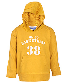 Basketball Print 6 - 12 Months, 80 cm, Comfortable and stylish full sleeves hooded jacket...