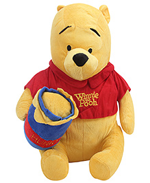 Disney Pooh With Honey Pot - 17 Inches - 12 Months+