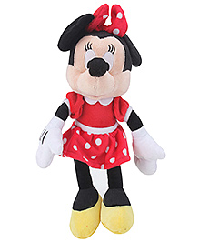 Disney Minnie In Red Dress Soft Toy - 10 Inches - 12 Months+