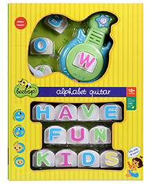 Beebop Alphabet Guitar Musical Toy
