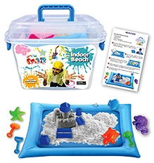 Chitra Pogo Mad Indoor Beach Set In Bucket 3 Years and above, Bright and colorful beach set for your kid