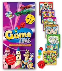 Chitra Gogo Kids Game Time - Combination Of 7 Quirky Board Games