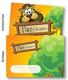 Chitra Party Invitation Pack - Jungle Theme