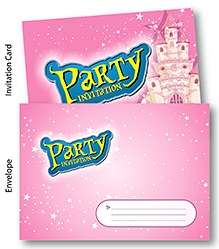 Chitra Party Invitation Pack - Fairy Theme