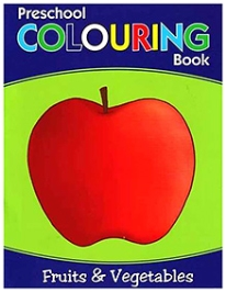Pegasus Preschool Colouring Book - Fruits & Vegetables