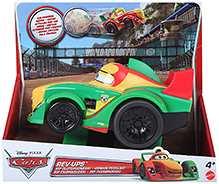 Disney Pixar Cars Rev Ups - Green