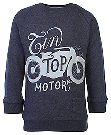 FS Mini Klub Full Sleeves Sweat Shirt - Motor Print