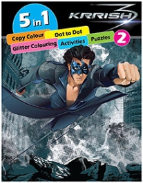 Krrish Five In One Activity Book 2 - English