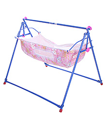 Mothertouch Indo Cradle Printed - Pink