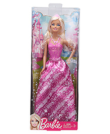 Barbie Princess Doll - Purple