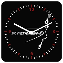 Krrish 3 Stylish - Wall Clock