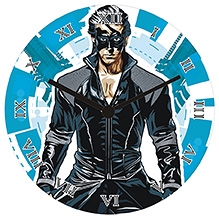 Krrish 3 Blue Kool - Wall Clock