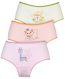 Bodycare Multi Print Panties - Set Of 3
