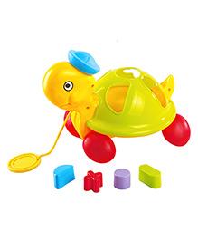 Little's Pull Along Shape Sorting Tortoise - 616