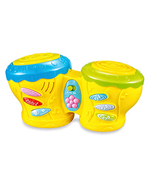 Littles Musical Drum Kit Yellow