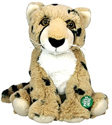 Animal Planet Cheetah Plush Toy With Sound - 6 Inches