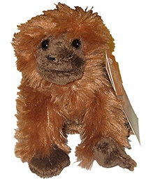 Animal Planet Musical Forest Collectibles Orangutan Soft Toy - 6 Inches