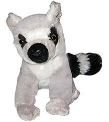 Animal Planet Forest Collectibles Ring Tailed Lemur Soft Toy - 6 Inches