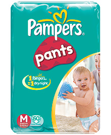 Pampers Diaper Pant Medium - 60 pieces