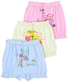 Bodycare Multi Print Bloomers - Set Of 3