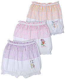 Bodycare Assorted Print Bloomers - Set Of 3