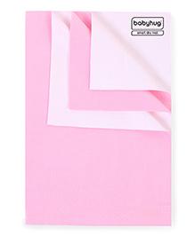Babyhug Smart Dry Bed Protecting Sheet Pink - Large