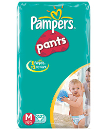 Pampers Pants Medium - 42 Pieces