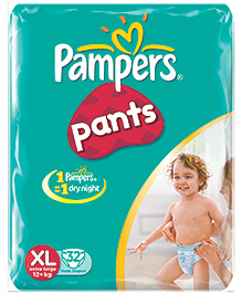 Pampers Diaper Pants Extra Large - 32 Pieces