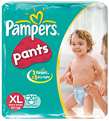 Pampers Diaper Pants Extra Large - 20 Pieces