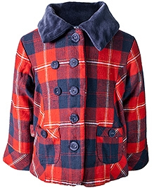 Nauti Nati Full Sleeves Dual Colored Jacket 4 Years, Stylish winter jacket for your little one