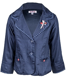Navy Blue 7 Years, Stylish winter jacket for your little girl