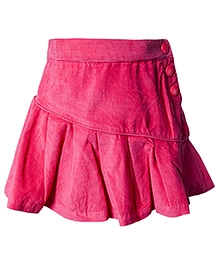 Nauti Nati Pink Skirt With Side Buttons