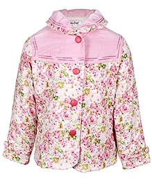 Pink 6 - 12 Months, Stylish winter jacket for your little girl