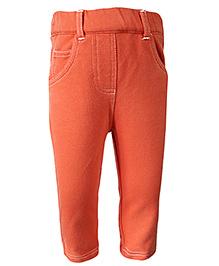 Nauti Nati Full Length Jegging - Orange