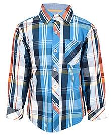 Nauti Nati Full Sleeves Check Print Shirt