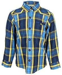 Nauti Nati Full Sleeves Shirt - Checks Print