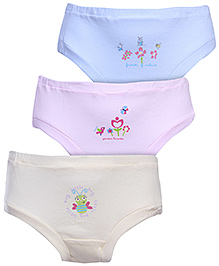 Zero Multiprint Panties - Pack Of Three