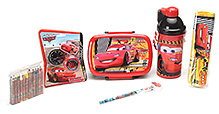Disney Pixar Cars School Kit - Pack Of 6