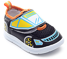 Kittens Car Pattern Casual Shoes - Velcro Strap